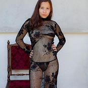 TeenMarvel Naomi Black Mesh Picture Set