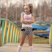 TeenModelingTV Alice Checker Shorts Picture Set