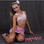 TeemModelingTV Alice Hawaiian Skirt Picture Set