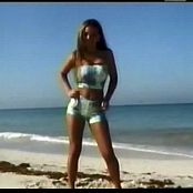 Chrisitna Model Blue On The Beach Dance Video