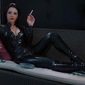 Young Goddess Kim Latex Smoke Seductress HD Video