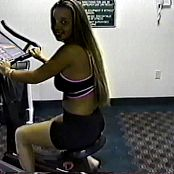 Christina Model At The Gym Shoot Video