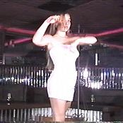 Christina Model White Dress Dance Tease Video