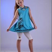 TeenModeling Alice Blue Dress Picture Set