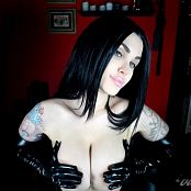 Violet Doll Black Glove Tit Worship HD Video
