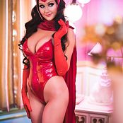 Angie Griffin Scarlet Witch Picture Set
