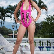 Tammy Molina Pink Lingerie TCG Picture Set 007