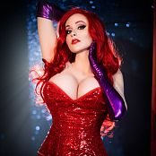 Angie Griffin Jessica Rabbit Picture Set & HD Video