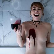 Ariel Rebel Blood Bath BTS Picture Set