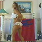 Christina Model Sexy In White Lingerie Dance Video
