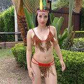 Natalia Marin Red Indian Costume TCG 4K UHD & HD Video 014
