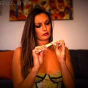 Bratty Bunny Loser Symbol Jerk Off HD Video