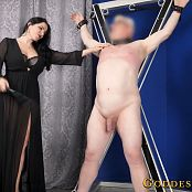 Goddess Alexandra Snow Against The Cross HD Video