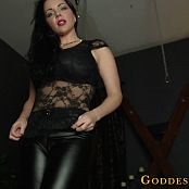 Goddess Alexandra Snow Under My Leather Pants HD Video