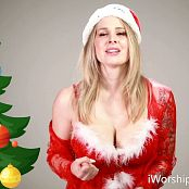 Godess Amanda Christmas Cumslut HD Video