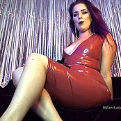 LatexBarbie Candy Apple Heels Stop Go JOI HD Video