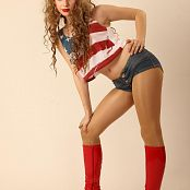 Silver Stars Margaret Red Boots Picture Set 001