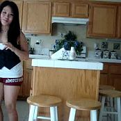 Cute Asian Chick Tease In Kitchen Video