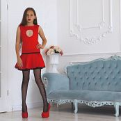 Brima Olivia Red Dress HD Video