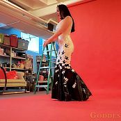 Goddess Alexandra Snow Latex Photoshoot Part 1 HD Video
