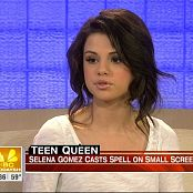 Selena Gomez Today Show 09/28/2008 HD Video