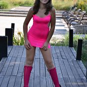 Silver Starlets Ariana Pink Dress Picture Set 001