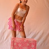 Silver Starlets Ariana Pink Skirt Picture Set 001
