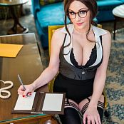 Angie Griffin Sexy Secretary Picture Set
