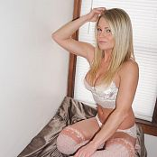 Madden White Lace & Tall Socks Picture Set