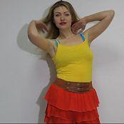 Fiona Model Striptease HD Video 168