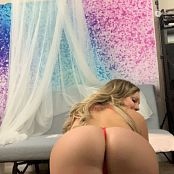 Kalee Carroll OnlyFans Red Thong Tease HD Video