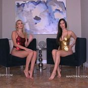 Princess Ashley & Goddess Lindsey Coerced Intox HD Video