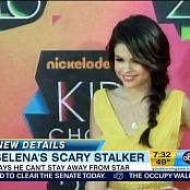 Selena Gomez Stalker Death Threats GMA HD Video