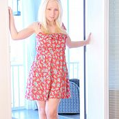 Sexy Pattycake Red Floral Dress Remastered Picture Set