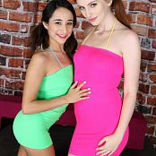 Teenikini Isabella Nice & Maya Kendrick Jack Off To Us Picture Set & HD Video 097