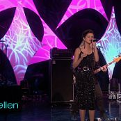 Selena Gomez A Year Without Rain Live Ellen 2010 HD Video