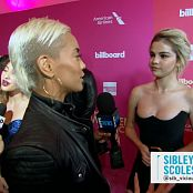Selena Gomez Interview Blonde Hair E Red Carpset Awards 2017 HD Video