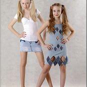 TeenModelingTV Mila Denim Skirt Picture Set