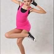 TeenModelingTV Sasha Pink Tank Dress Picture Set