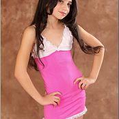 TeenModelingTV Tamta Pink Dress Picture Set