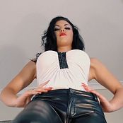 Young Goddess Kim Leather Lust HD Video