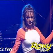 Britney Spears Baby One More Time Live Roxy Bar 1999 Video