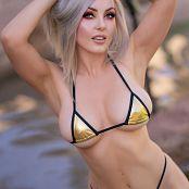 Jessica Nigri Gold Bikini Picture Set