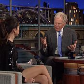 Selena Gomez David Letterman 2013 Interview HD Video