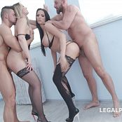 Jolee Love & Nikky Dream Balls Deep Double Anal Gangbang GIO663 4K UHD Video