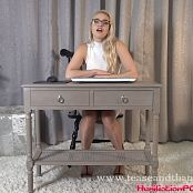 Mandy Marx Your Boss Alter Ego Plants Subliminal Messages During Virtual Office Meeting HD Video