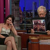 Selena Gomez David Letterman Interview 2010 HD Video