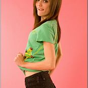 TeenModelingTV Chloe Ed Hardy Shirt Picture Set