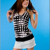 TeenModelingTV Chloe Jean Skirt Picture Set