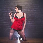 Angie Griffin Ada Wong Resident Evil Cosplay HD Video